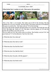 WHAT IS THE TIME worksheet - Free ESL printable worksheets made by teachers