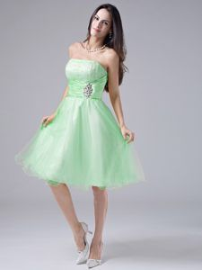 cc701e6326c Spring Green Beaded and Ruched Bodice Cocktail Dress for Prom in Indiana  Lavender Cocktail Dress