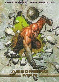 Absorbing Man 1993 Marvel Masterpieces