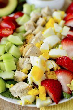 California Cobb Salad with Tarragon Vinaigrette