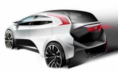 Peugeot SUV by David Olsen, via Behance