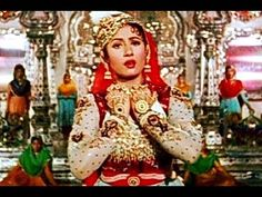 Madhubala, the 'Venus of India' plays the role of the courtesan Anarkali in the court of the Mughal Emperor Akbar. In this song she declares her love for the Emperor's son Prince Salim. The dance takes place in a spectacular hall of mirrors. From Mughal-E-Azam (1960)