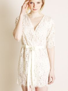 Zinke Harvard Lace Robe - is there a cheaper one out there that is still pretty?!?