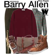 Inspired by Grant Gustin as Barry Allen on The Flash. I wish they had something like this for girls