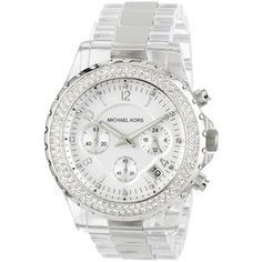 Michael Kors clear watch....