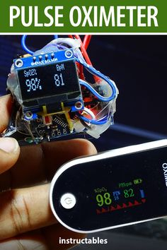 shubhamsuresh built a Pulse Oximeter by using #Arduino and some very basic electronic components. #Instructables #electronics #technology #sensor Useful Arduino Projects, Technology, Electronics, Diy, Projects, Tech, Bricolage, Tecnologia, Do It Yourself