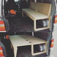 10 Camper Van Bed Designs For Your Next Van Build One of the most unique bed designs I have seen. This is perfect for a camper! I love this little van hack to make both a bed and a seat! 10 Camper Van Bed Designs For Your Next Van Build One of the most … Truck Camper, Kombi Motorhome, Camper Trailers, Travel Trailers, Rv Campers, Landrover Camper, Pickup Camper, Camper Life, Jeep Truck