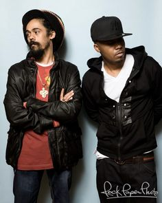 Damian Marley and Nas worked together. One of the best concerts I have ever been to...amazing!