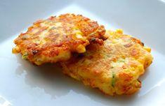 Corn & Cheddar Mashed Potato Fritters Side Dish Recipes, Vegetable Recipes, Vegetarian Recipes, Cooking Recipes, Healthy Recipes, Potato Dishes, Vegetable Side Dishes, Food Dishes, Potato Recipes