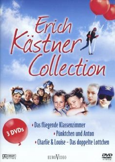 Erich Kästner Collection - Das fliegende Klassenzimmer, Pünktchen und Anton, Charlie & Louise (3 DVDs) NOETHEN,ULRICH/GEISSLER,ELEA http://www.amazon.de/dp/B001IX2CFE/ref=cm_sw_r_pi_dp_P7iiwb1B0DZXQ