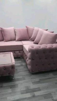 Corner Sofa Design, Sofa Bed Design, Living Room Sofa Design, Sofa For Living Room, Small Room Furniture, Bedroom Furniture Design, Sofa Furniture, Modern Furniture, Modern Sofa Designs
