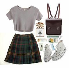 A fashion look from September 2015 by shannonmichellex featuring Jones New York, The Cambridge Satchel Company, Mally, Clinique, Byredo and Dot & Bo - Woman Under Wear Fashion Looks, 90s Fashion, Korean Fashion, Fashion Outfits, Womens Fashion, Fashion Trends, Fashion 2015, Fashion Spring, Dress Fashion