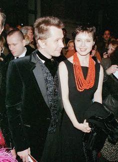 Isabella Rossellini and Gary Oldman