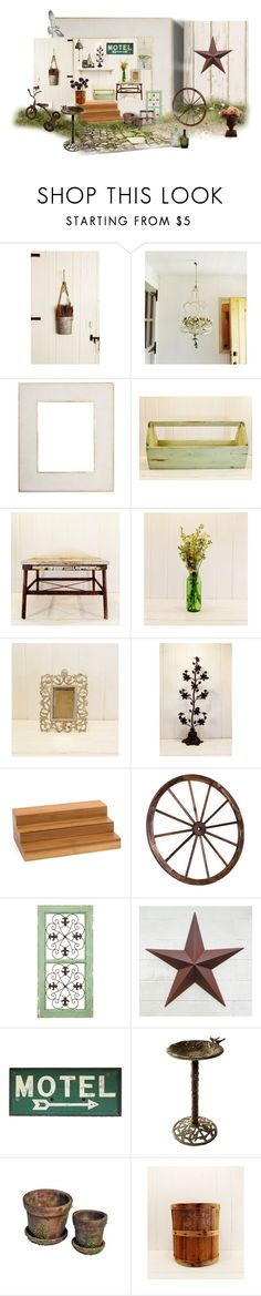 """""""After The Barn Sale"""" by funkyjunkygypsy ❤ liked on Polyvore featuring interior, interiors, interior design, home, home decor, interior decorating, But Another Innocent Tale, Williams-Sonoma, EASEL and Lipper"""