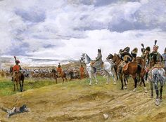 Napoleon at Jena, 14 Oct 1806, by Ernest Meissonier.