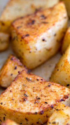 Favorite Way to Roast Potatoes ~ with the easiest seasonings