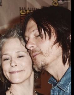 Melissa and Norman - Fangirl - The Walking Dead - Ship - Caryl