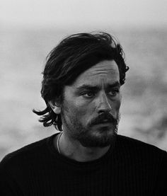 "Pinner asked: Alain Delon....good grief!  Who is he??! // -I answered: ""Great actor, born 1935"""