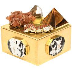 Vermillion Bauble Box by Kelly Wearstler