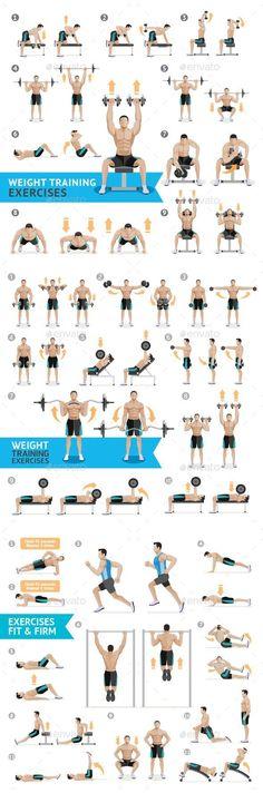 """Eaks ® T-Shirt Hommes /""""Weights/"""" Noir Poids Musculation Fitness Force Sport"""