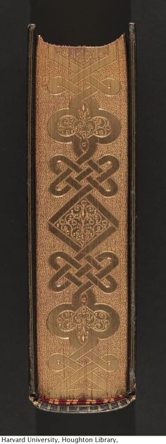 Houghton Library — The imitation of Christ, 1889. Bound in crushed morocco...