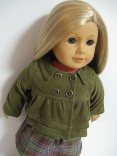 American Girl Doll Clothes  Fall Walk by 123MULBERRYSTREET on Etsy, $31.00