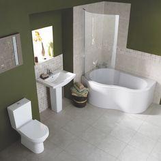 Palma Corner Bath Suite