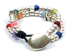 pulsera+boho+para+mujer,+pulsera+estilo+Uno+de+50+de+Cozy+Detailz+por+DaWanda.com