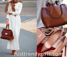 classy-ivort-maxi-dress-with-hijab-Hijab outfits with matching bags and shoes http://www.justtrendygirls.com/hijab-outfits-with-matching-bags-and-shoes/