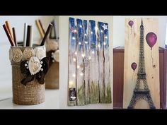 (9) 20 FANTASTIC ROOM DECOR DIY EVERYONE SHOULD TRY ! AUGUST 2017 - YouTube