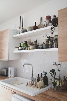 Ever since we moved into our house (in 2013) we have wanted to do something with our kitchen.  It was newly installed by the previous ...