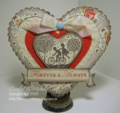 Beautiful vintage card to case