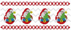 Rolly Poly Santa - Machine Smocking by Elizabeth's Embroideries www.elizabethsembroideries.com