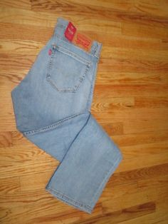 New Levi's 505 Regular Jeans 34 X 33 (#5051314) #Levis #OriginalStraightLeg