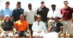 Facebook/Marques Harris Foundation   Harris' Kids & Celebrity Golf Tournament