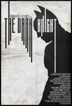 The Dark Knight - Alt. Minimalist Poster by Edwin Julian Moran II