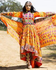Asal Qalin Baaf Afghan Dress