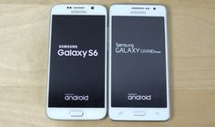 Samsung Galaxy S6 vs Galaxy Grand Prime Speed Test