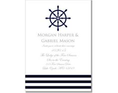 Nautical Wedding InvitationNautical Compass by ClearyLane on Etsy