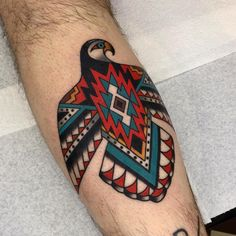 Luke Jinks - London Traditional Tattoo Artist tattoo designs ideas männer männer ideen old school quotes sketches Native American Tattoos, Native Tattoos, Wolf Tattoos, Body Art Tattoos, Female Tattoos, Tatoos, Thunderbird Tattoo, Haida Tattoo, Navajo Tattoo
