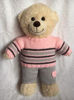 Die 53 Besten Bilder Von Stricken Für Teddy Build A Bear
