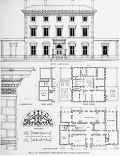 The Crown estate in Kensington Palace Gardens: Individual buildings | British History Online