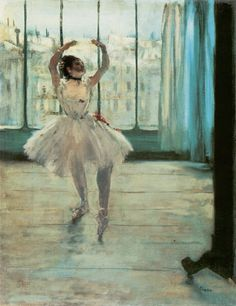 Edgar Degas - Danseuse devant la fenêtre