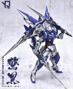 Custom Build: MG Gundam Amazing Exia [Resin Conversion] Gundam Exia, Gundam Astray, Gundam 00, Gundam Wing, Mecha Suit, Arte Robot, Gundam Build Fighters, Gundam Wallpapers, Gundam Mobile Suit