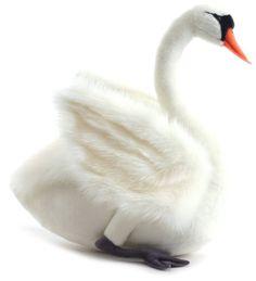 White Swan Stuffed Animal