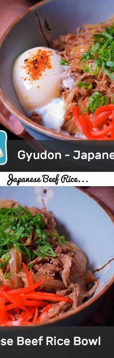 Japanese Beef Rice Bowl Recipe - Gyudon... Tags: japanese beef rice bowl recipe (gyudon), japanese rice bowl recipe, japanese beef rice bowl recipe, gyūdon (dish), japanese beef bowl recipe, japanese beef rice bowl, japanese beef onion rice bowl, how to make gyudon, gyudon recipe, japanese food, asian cooking, gyudon with egg, donburi, gyudon, 牛丼, yoshinoya, beef bowl recipe, japanese beef bowl, how to make, chinese cooking, gyudon beef bowl, recipe, beef bowl, japanese rice bowl, beef rice… Japanese Rice Bowl, Japanese Dishes, Japanese Food, Beef Rice Bowl Recipe, Gyudon, Pop Up Dinner, Beef And Rice, Sweet Sauce