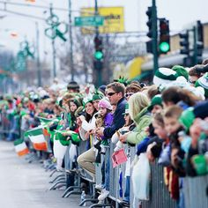 Watch a St. Patrick's Day Parade