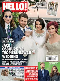 Jack Osbourne, Lisa Stelly Marry in Hawaii; See Their Wedding Photo : People.com