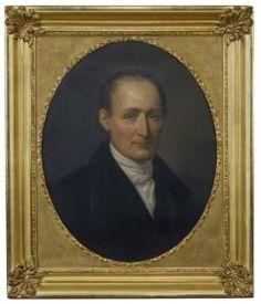 Léonard François Berger, Portrait of Joseph Nicephore Niepce, 1854.  Oil on Canvas