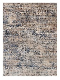 """Loloi Rugs Anastasia Collection Round Area Rug, 9'6"""" by 9'6"""", Mist/Blue"""